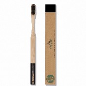 Brosse à dents en Bambou naturel rose